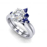 Beautiful engagement ring with