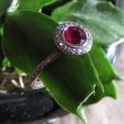 Extraordinary Burmese ruby, diamond,