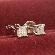 Laidies Genuine Diamond Earrings