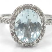 Beautiful Oval Cut Aquamarine