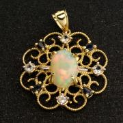 Beautiful 14k Gold Opal