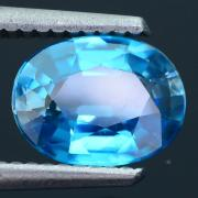 2.29ct Natural AAA Blue