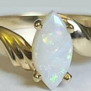 10K Yellow Gold MARQUISE