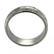 Custom Wedding band with
