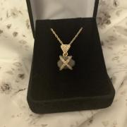 14k 3.5ct uncut diamond