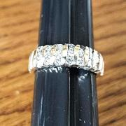 21DIAMONDS (.50ctw) WEDDING♡ANNIVERSARY 14K