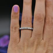 Charming White Gold Diamond