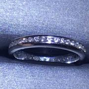 14k Wedding Band .4