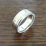 14k White Gold 7mm