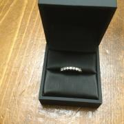 .25ct WHITE GOLD WEDDING