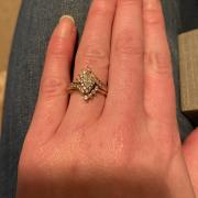 Rose Gold Marquise-Custom Made