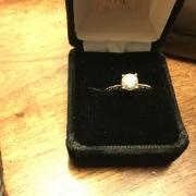 Tacori Engagement Ring and