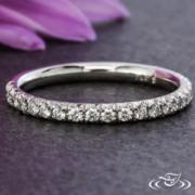 Platinum, French Set, Diamond