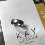 Kay Jewelers Hammered 10k