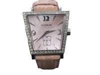 Lady's Corum Trapeze Diamond Wristwatch