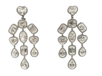 Chopard Diamond Chandelier Earrings