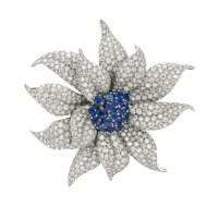 Cartier 1950'S Flower BROOCH