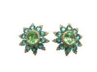 RARE PARAIBA TOURMALINE EARRINGS