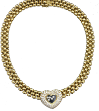 "Chopard ""Happy"" Necklace"