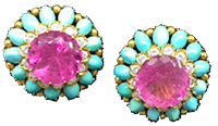 David Webb Earrings