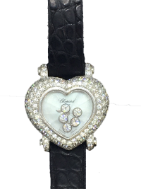 Chopard Happy Diamonds Heart Shape Watch